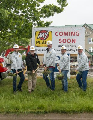 Eller Breaks Ground on his 2nd of 40 My Place Hotels!