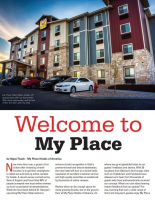 View On Magazine: Welcome to My Place