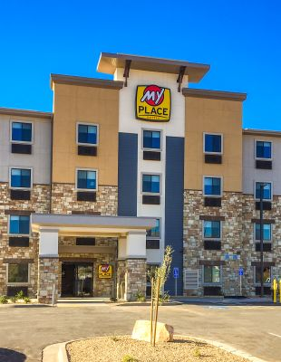 My Place Hotel-St. George, UT is now open!